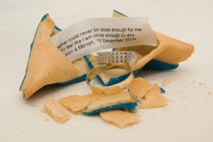 Dipped Fortune Cookie