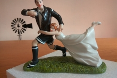 Rugby Tackle Cake Topper