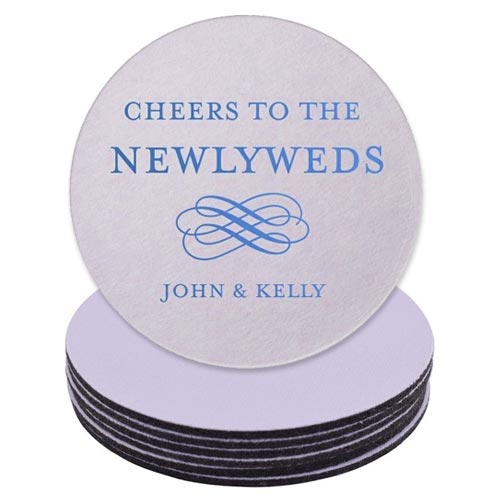 Personalised Wedding Coasters