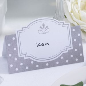 Chic Boutique Place Cards