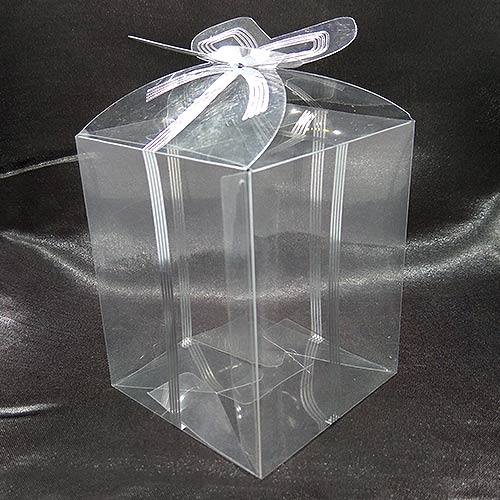 Clear Ribbon Sweet Favour Box