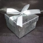 Damask Wedding Favour Box