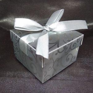 Damask Wedding Favour Box