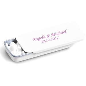 Mint Tin Wedding Favour