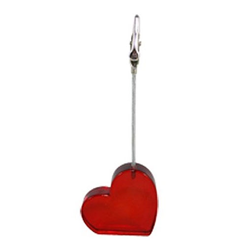 Heart Shaped Place Card Holder