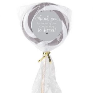 Lollipop Candy Wedding Favour