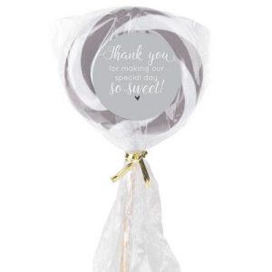 Lollipop Candy Wedding Favour