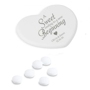 Love Heart Shaped Mints