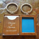 Memories Photo Frame Keyring