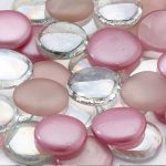 Pink Mixed Signing Stones
