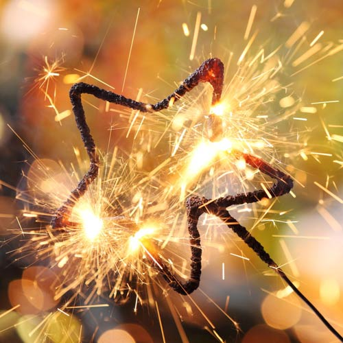 Star Sparklers Wedding Sparklers