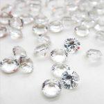 Scatter Diamond Table Confetti