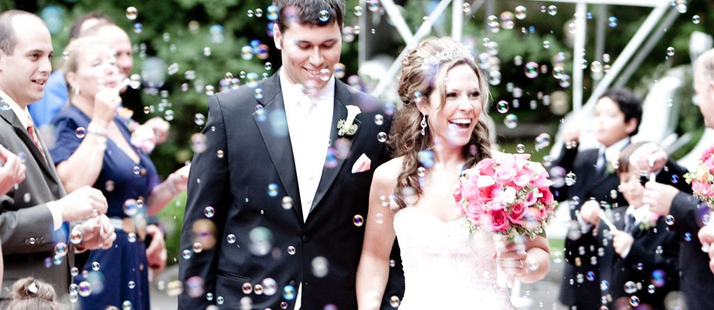 Wedding Bubble Confetti