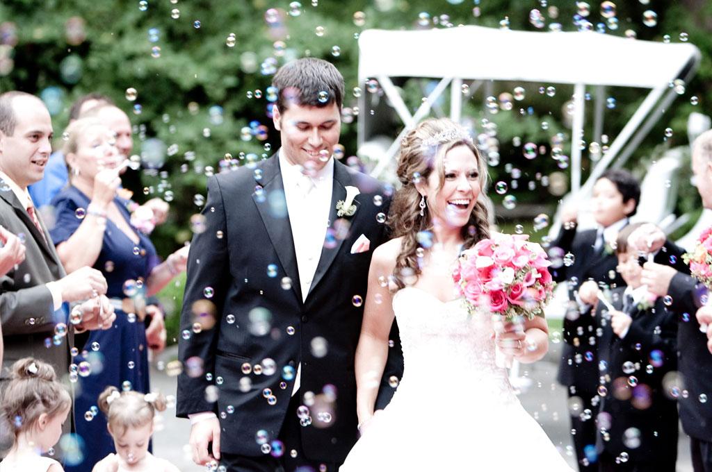 Wedding Bubble Confetti