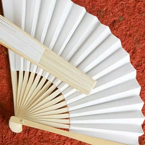 White Paper Hand Fans