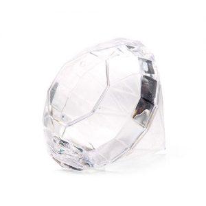 Diamond Shaped Wedding Favour Box