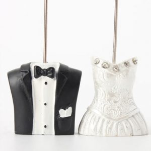 Bride and Groom Card Holder