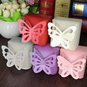 Butterfly Wedding Favour Box