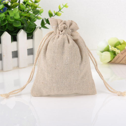 Rustic Hessian Favour Bag