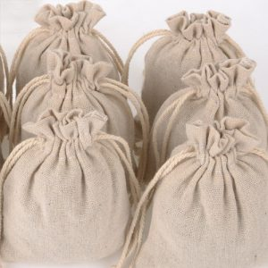 Rustic Hessian Favour Bag