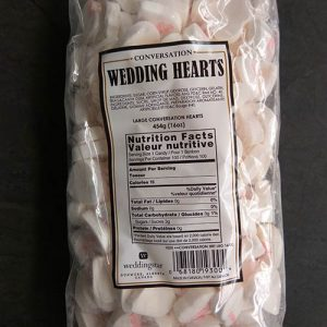 Wedding Candy Hearts