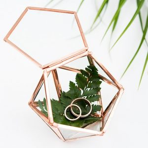 Geometric Ring Box