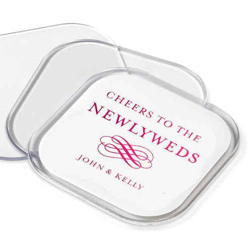 Personalised Wedding Coaster Favours