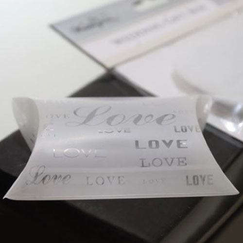 Frosted Love Pillow Box