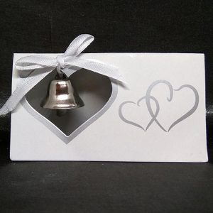 Heart Bell Place Card