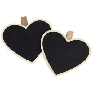 Heart Chalkboard Peg