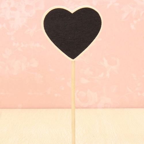 Heart Chalkboard Table Number