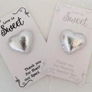 Love is Sweet Chocolate Heart