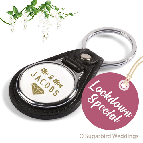 Premium Round Keyring
