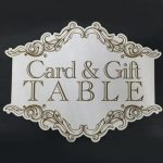 Card and Gift Table