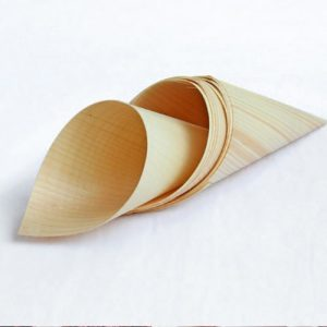 Eco Wooden Confetti Cone