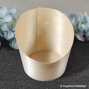 Eco Wooden Confetti Cup