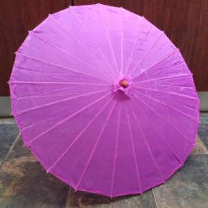 Purple Chinese Parasol