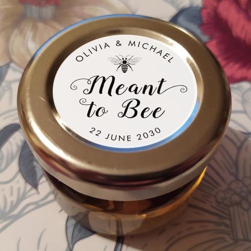 Mini Honey Jar Favour Sugarbird Wedding Favours Jar Favours