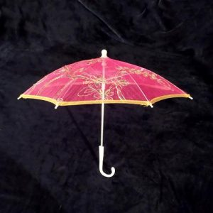 Pink Lace Umbrella