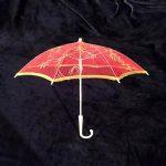 Red Lace Umbrella 50cm