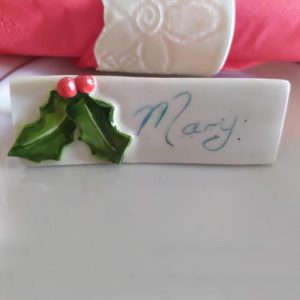 Porcelain Place Cards