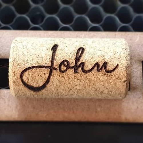 Wine Cork Keyrings