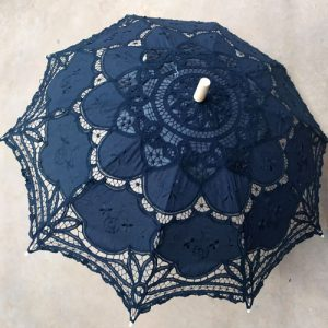 Crochet Lace Parasol Umbrella