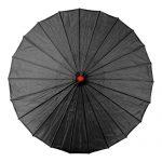 Black Chinese Parasol