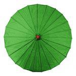 Green Chinese Parasol