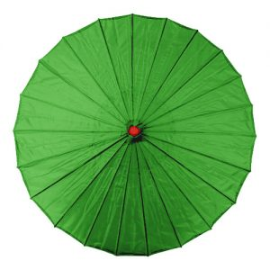 Green Chinese Parasol