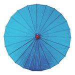 Light Blue Chinese Parasol