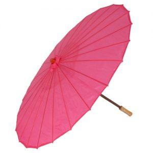 Pink Chinese Parasol