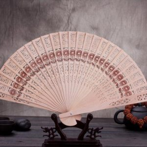 Sunflower Sandalwood Hand Fans