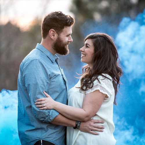 Gender Reveal Smoke Fountain